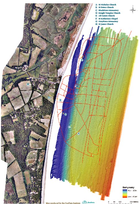 Bathymetry results