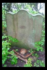 Figure 4: Last remaining tombstone in All Saints Churchyard